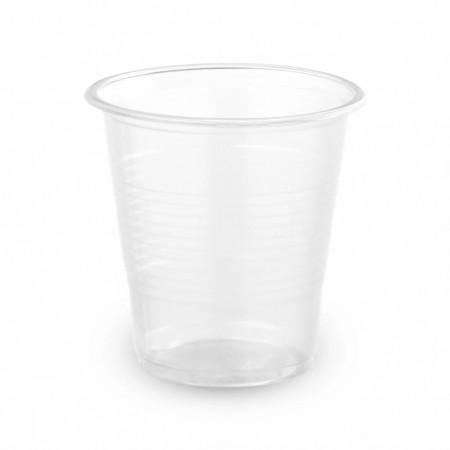 Стакан пластиковый 100мл прозрачный 100шт
