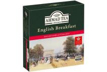 "Чай Ahmad ""Английский к завтраку"" в пакетиках (100 шт.) цена"