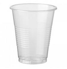 Стакан пластиковый 300 мл прозрачный 50шт