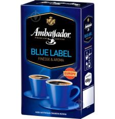 Кофе молотый Ambassador Blue Label 450 г