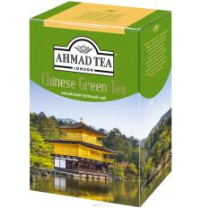 Чай китайский зеленый листовой Ahmad Tea 200г