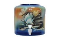 Диспенсер для воды керамический «Парус синий» цена в Киеве