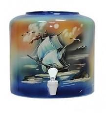 Диспенсер для води керамічний «Парус синій» ціна в Києві