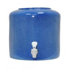 Диспенсер для воды «Мрамор Синий» керамический