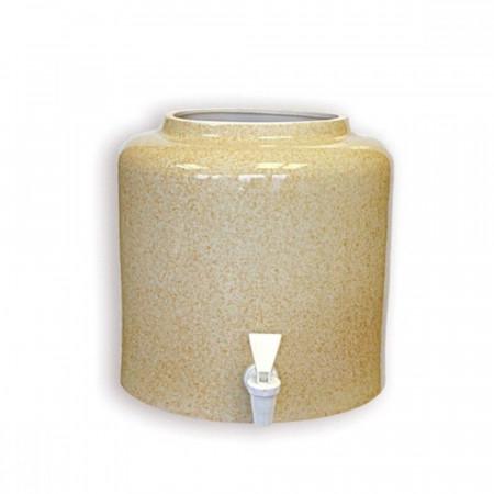 Диспенсер для воды «Мрамор Песок» керамический