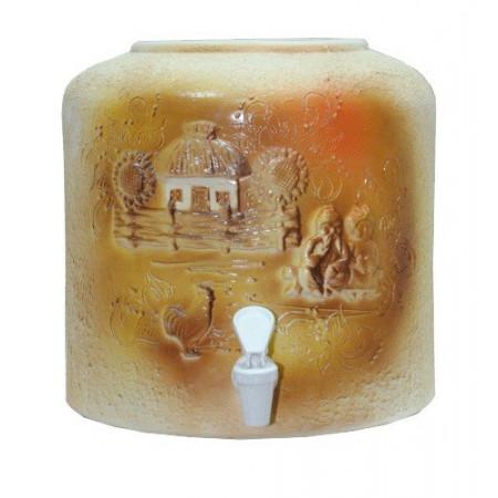 Диспенсер для воды шамот «Хата лепка» керамический