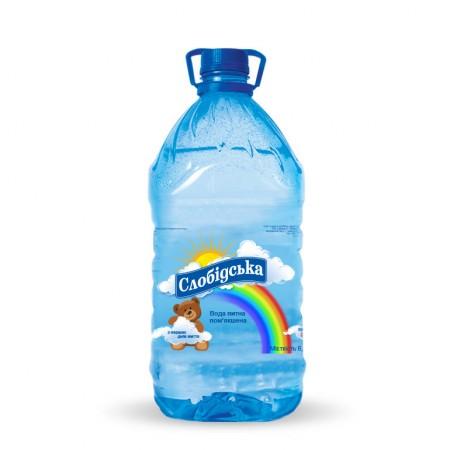 """Артезіанська вода """"Слобідська"""", дитяча, 6л ціна"""