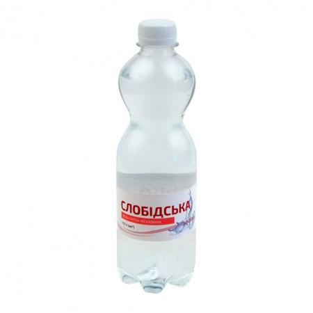 """Питьевая Вода """"Слобідська"""" 0,5 л газированная цена"""