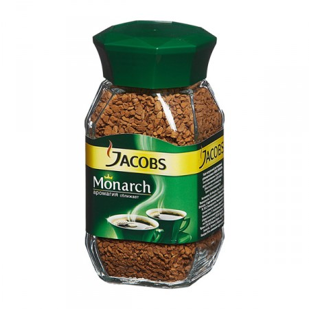 "Кофе растворимый ""Jacobs Monarch"" 190 г."