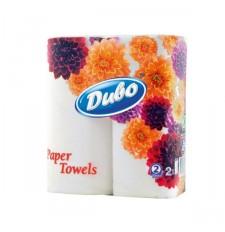 Бумажные полотенца Диво 2-слойные белые 50 отрывов 2 шт