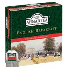 """Чай Ahmad """"Англійський до сніданку"""" в пакетиках (100 шт.) ціна"""