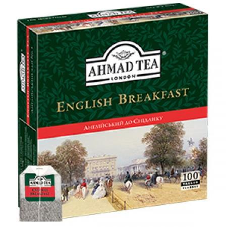 """Чай Ahmad """"Английский к завтраку"""" в пакетиках (100 шт.)"""