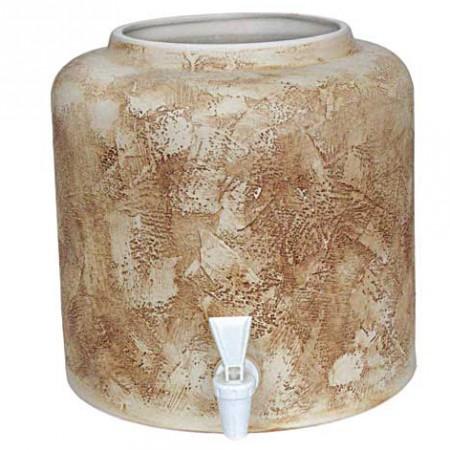 Диспенсер для воды «Шамот» керамический