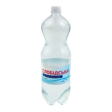 """Питна бутильована вода """"Слобідська"""" 1,5 л"""