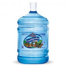 """Артезіанська вода """"Слобідська"""" пом'якшена 18,9л ціна в Київі"""