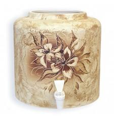 Диспенсер для води керамічний «Квітка Шамот» ціна в Києві