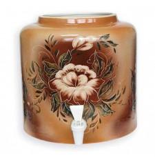 Диспенсер для води керамічний «Квітка» ціна