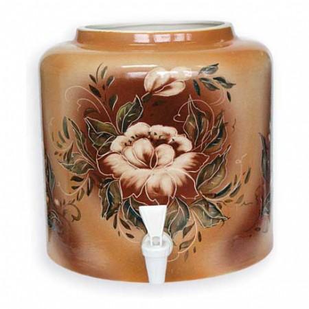 Диспенсер для воды керамический «Цветок» цена