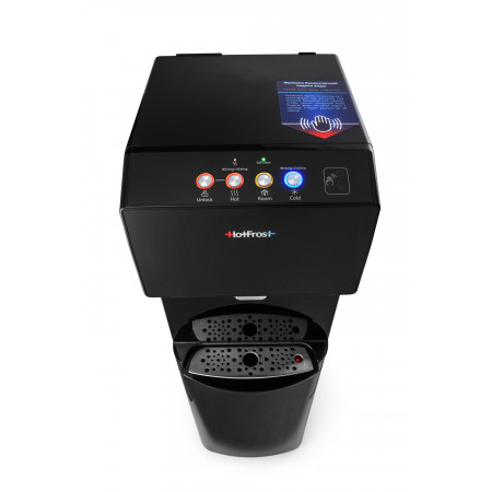 Кулер для воды HotFrost 450AMI Black с нижней загрузкой