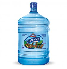 Питьевая бутилированная вода «Слобідська» природная 18,9 л