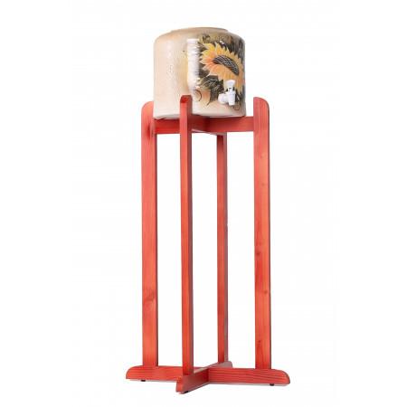 Подставка деревянная высокая, для диспенсера, WSD-2, Вишня