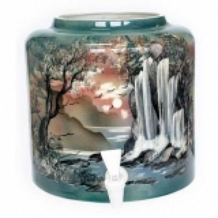 Диспенсер для воды «Водопад» керамический
